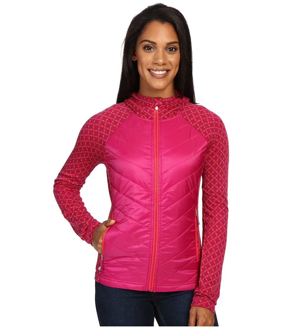 Smartwool - Double Propulsion 60 Hoodie (Berry) Women's Sweatshirt