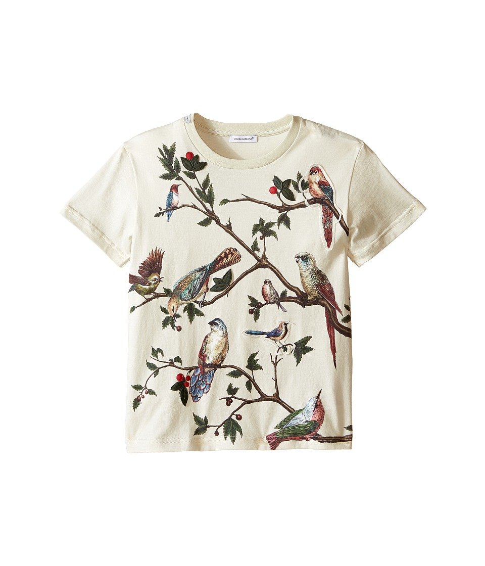 Dolce & Gabbana Kids - Tree Life T-Shirt (Toddler/Little Kids) (Natural Print) Boy's Short Sleeve Pullover