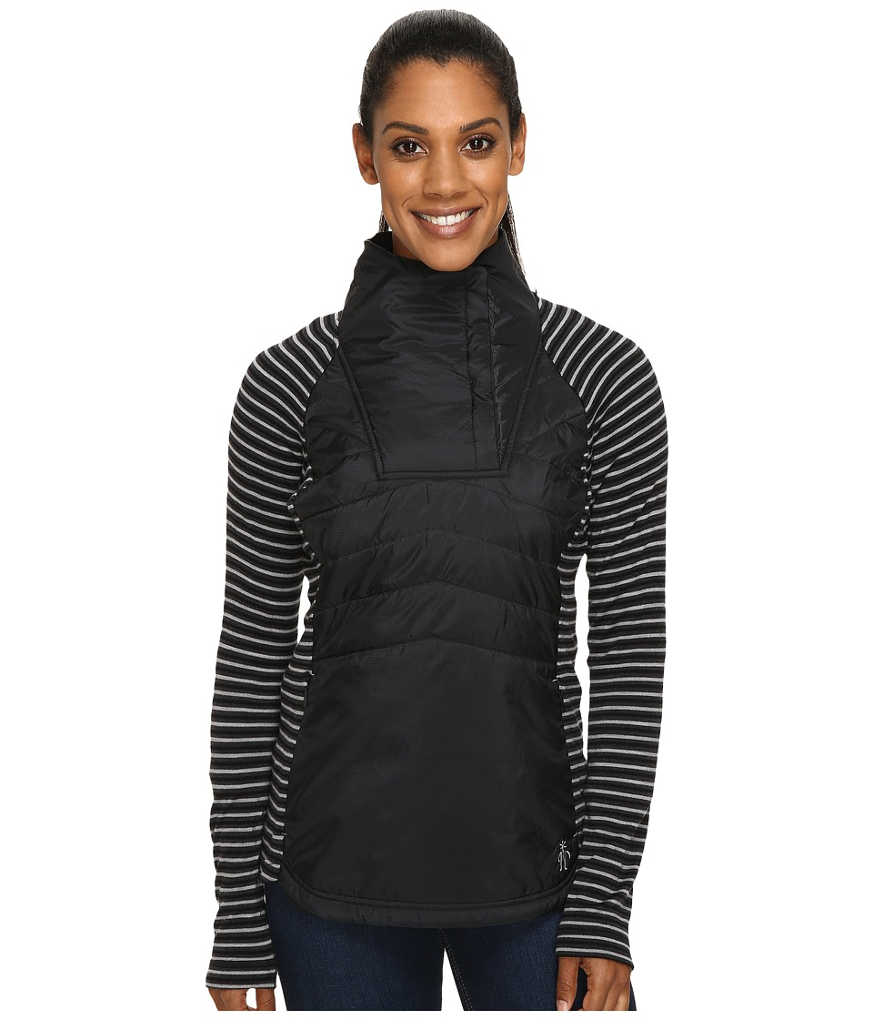 Smartwool - Double Propulsion 60 Pullover (Black) Women's Long Sleeve Pullover