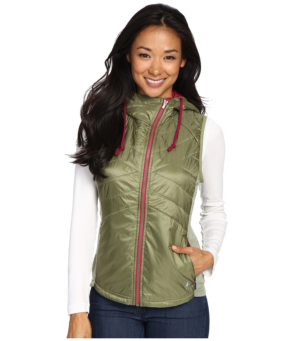 Smartwool - Double Propulsion 60 Hooded Vest (Light Loden) Women's Vest