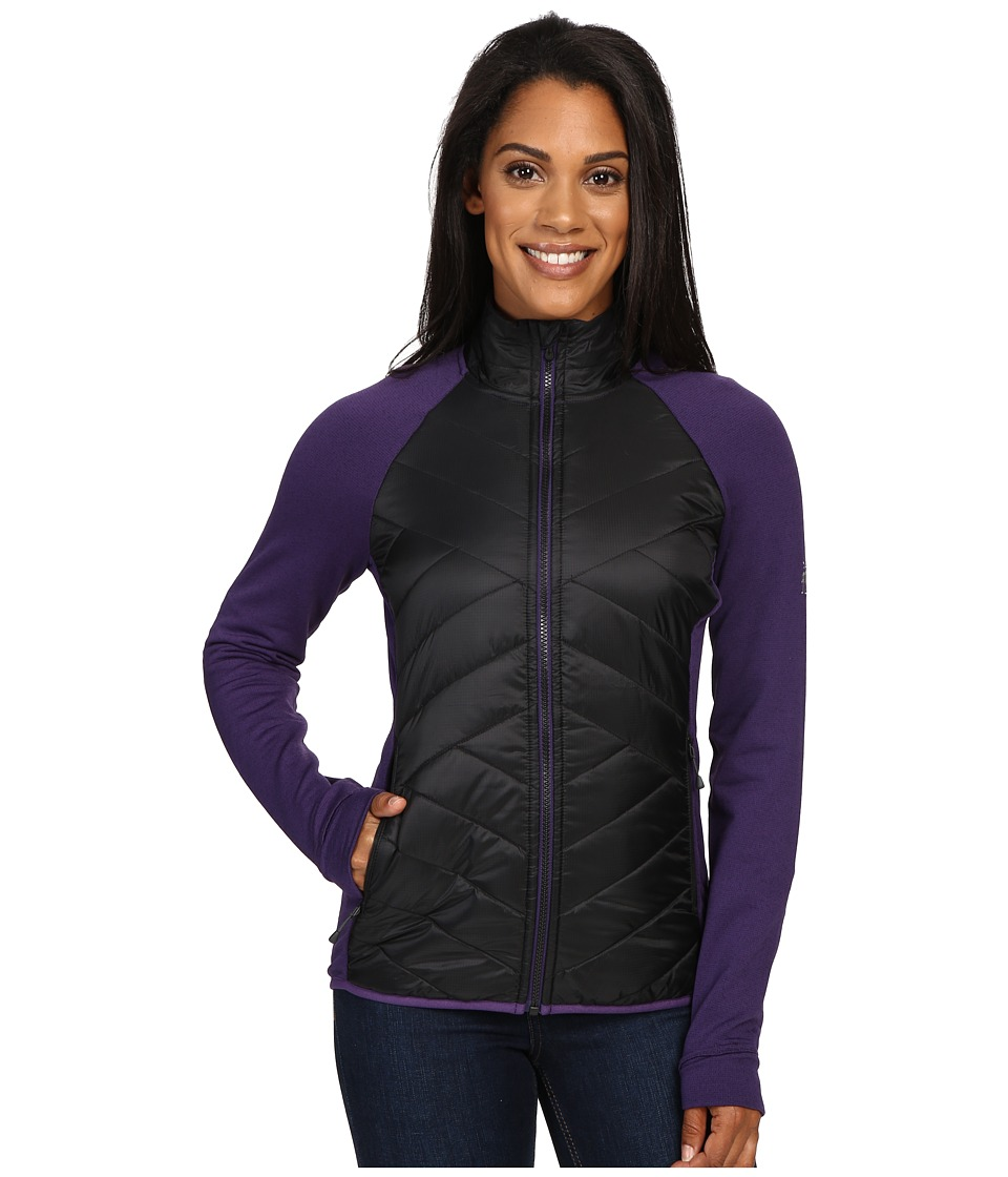 Smartwool - Corbet 120 Jacket (Black Mountain/Purple) Women's Coat