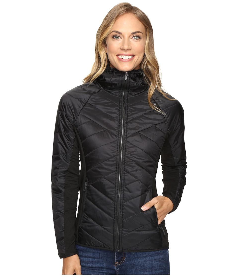Smartwool - Double Corbet 120 Hoodie (Black) Women's Sweatshirt