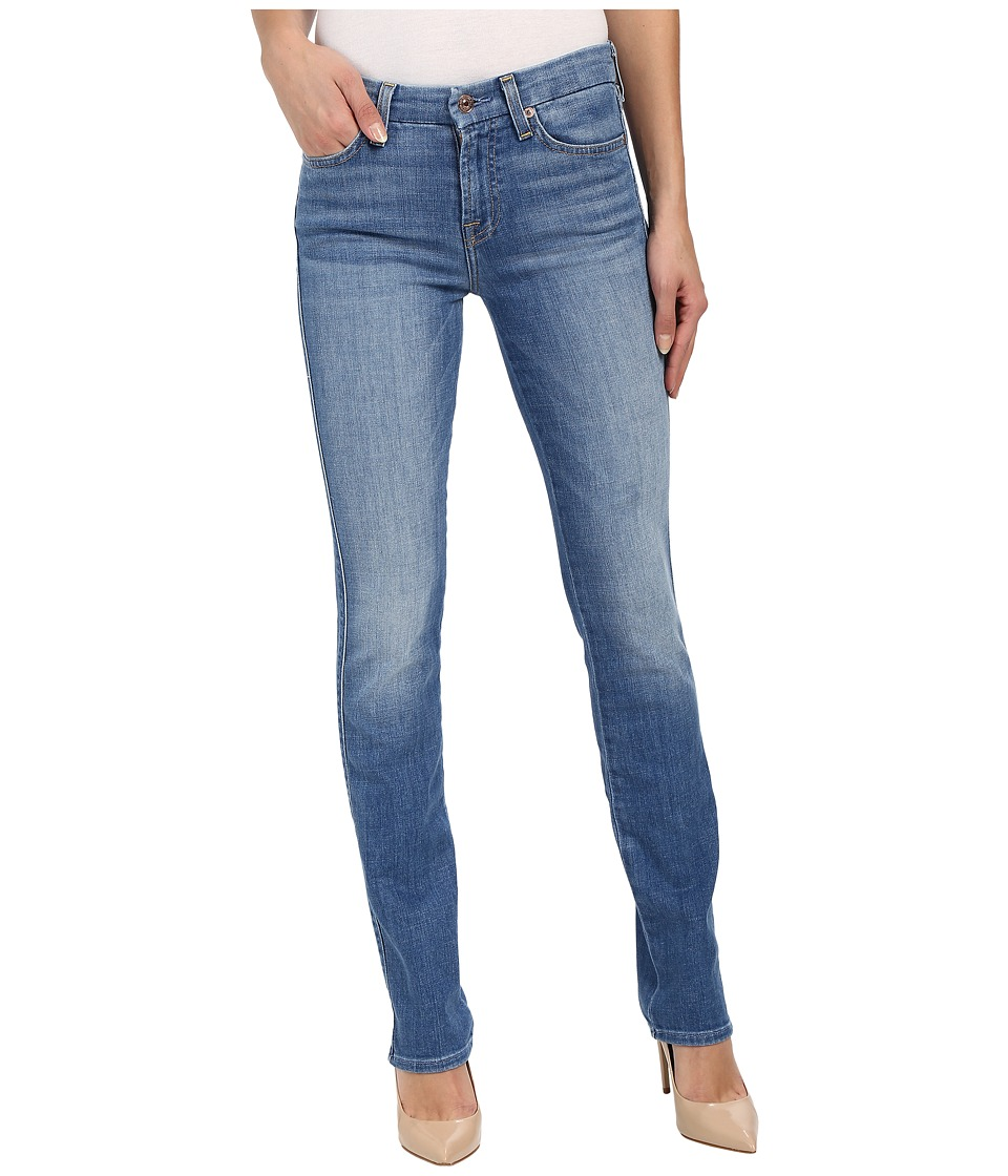 7 For All Mankind - Kimmie Straight in Vivid Authentic Blue (Vivid Authentic Blue) Women's Jeans
