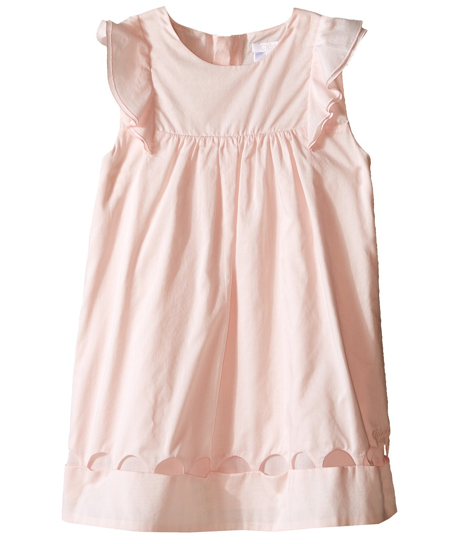 Chloe Kids - Dress with Percale Details (Infant) (Light Pink) Girl's Dress