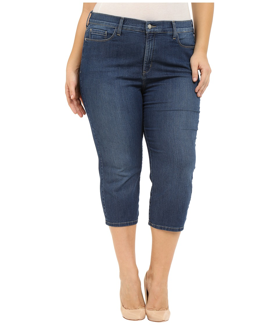 NYDJ Plus Size - Plus Size Ariel Crop w/ Slit in Cleveland (Cleveland) Women's Jeans