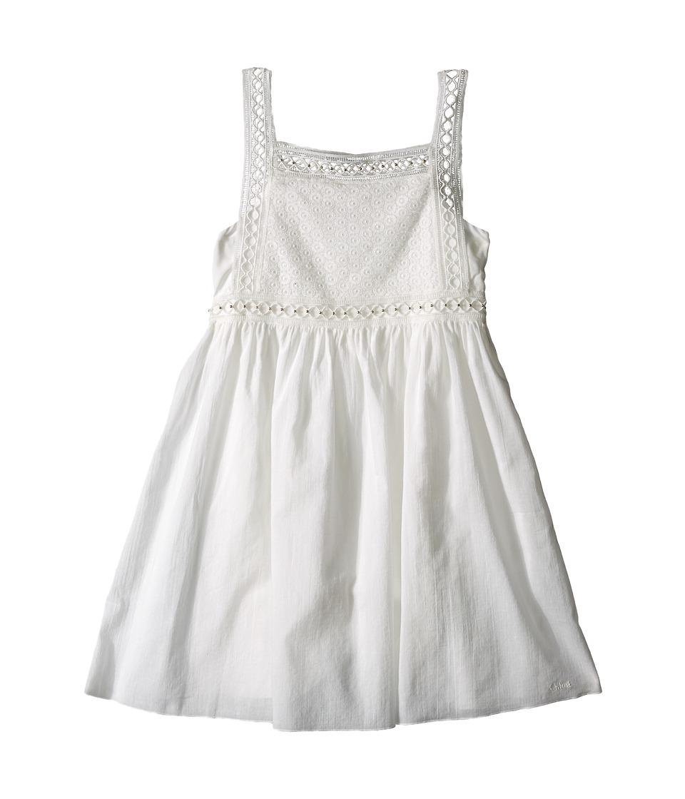 Chloe Kids Cotton Crepe Couture Dress