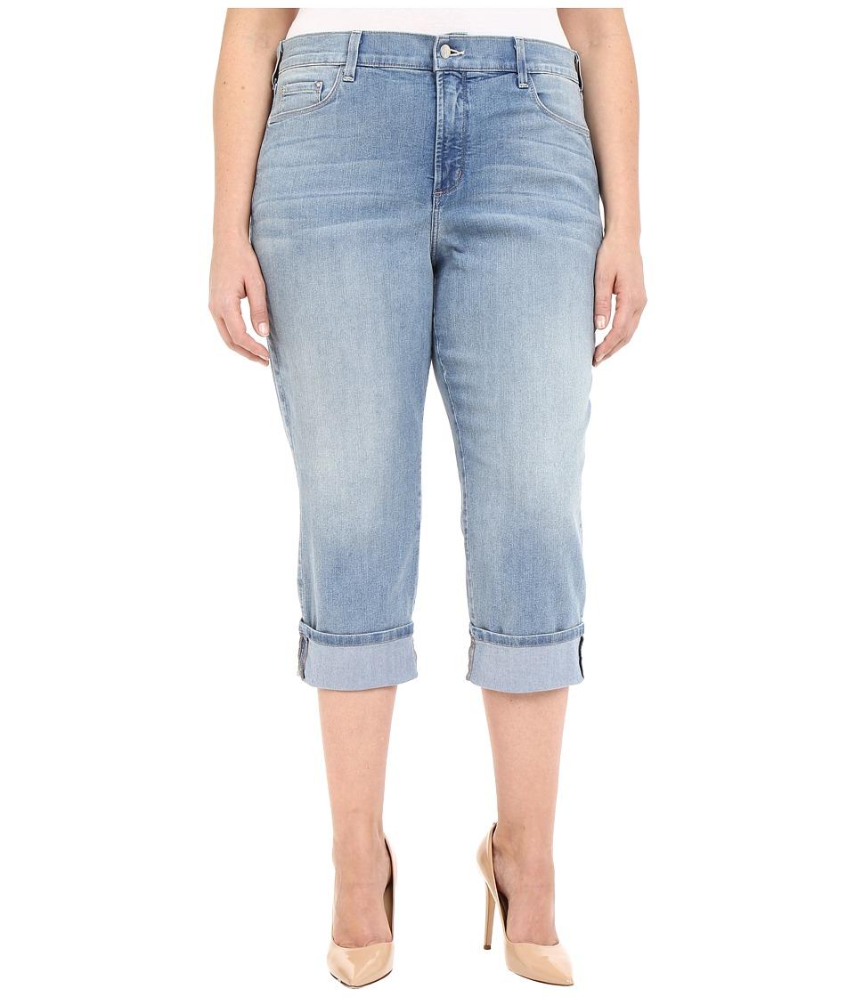 NYDJ Plus Size - Plus Size Dayla Wide Cuff Capris (Manhattan Beach) Women's Capri