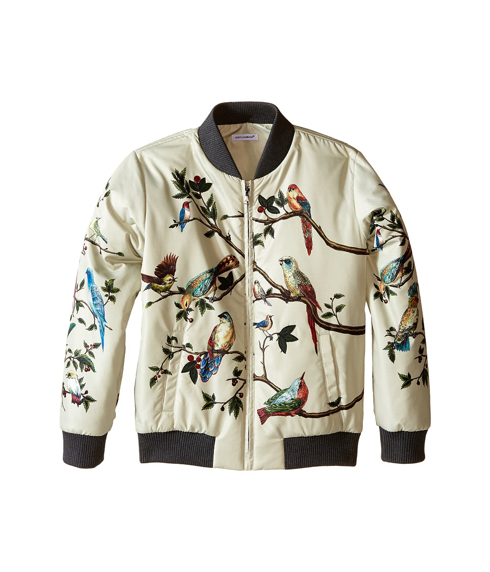Dolce & Gabbana Kids - Tree Life Jacket (Big Kids) (Natural Print) Boy's Coat
