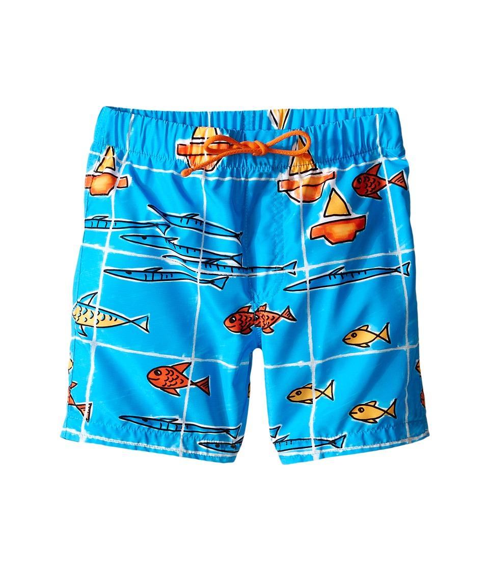 Dolce & Gabbana Kids - Sealife Swimsuit (Infant) (Aqua Print) Boy's Swimwear
