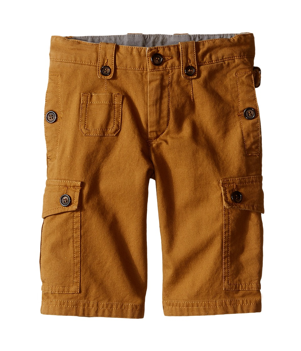 Dolce & Gabbana Kids - Cargo Shorts (Toddler/Little Kids) (Rust Brown) Boy's Shorts