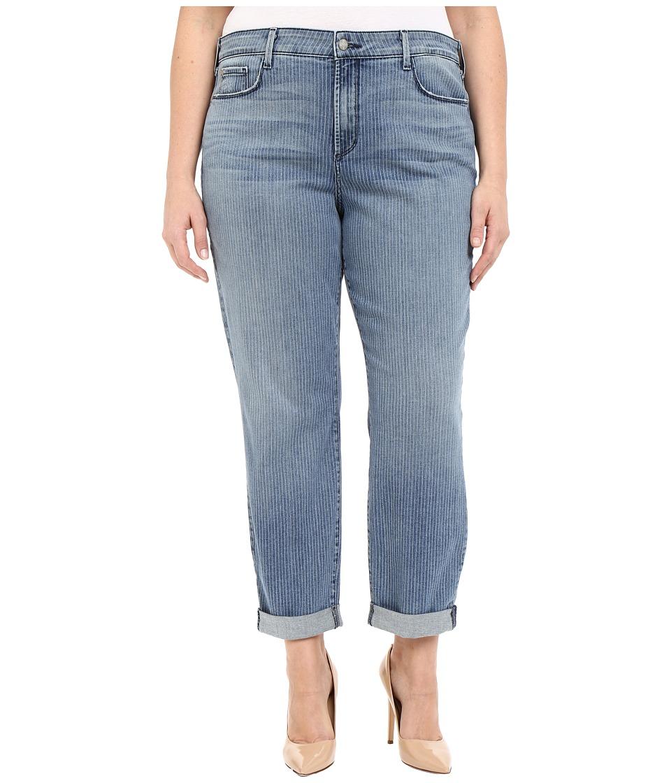 NYDJ Plus Size - Plus Size Sylvia Boyfriend in Carrollton (Carrollton) Women's Jeans