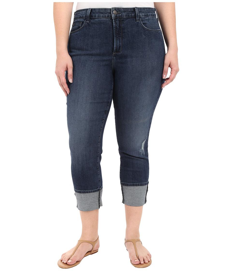 NYDJ Plus Size - Plus Size Lorena Boyfriend in Redding (Redding) Women's Jeans
