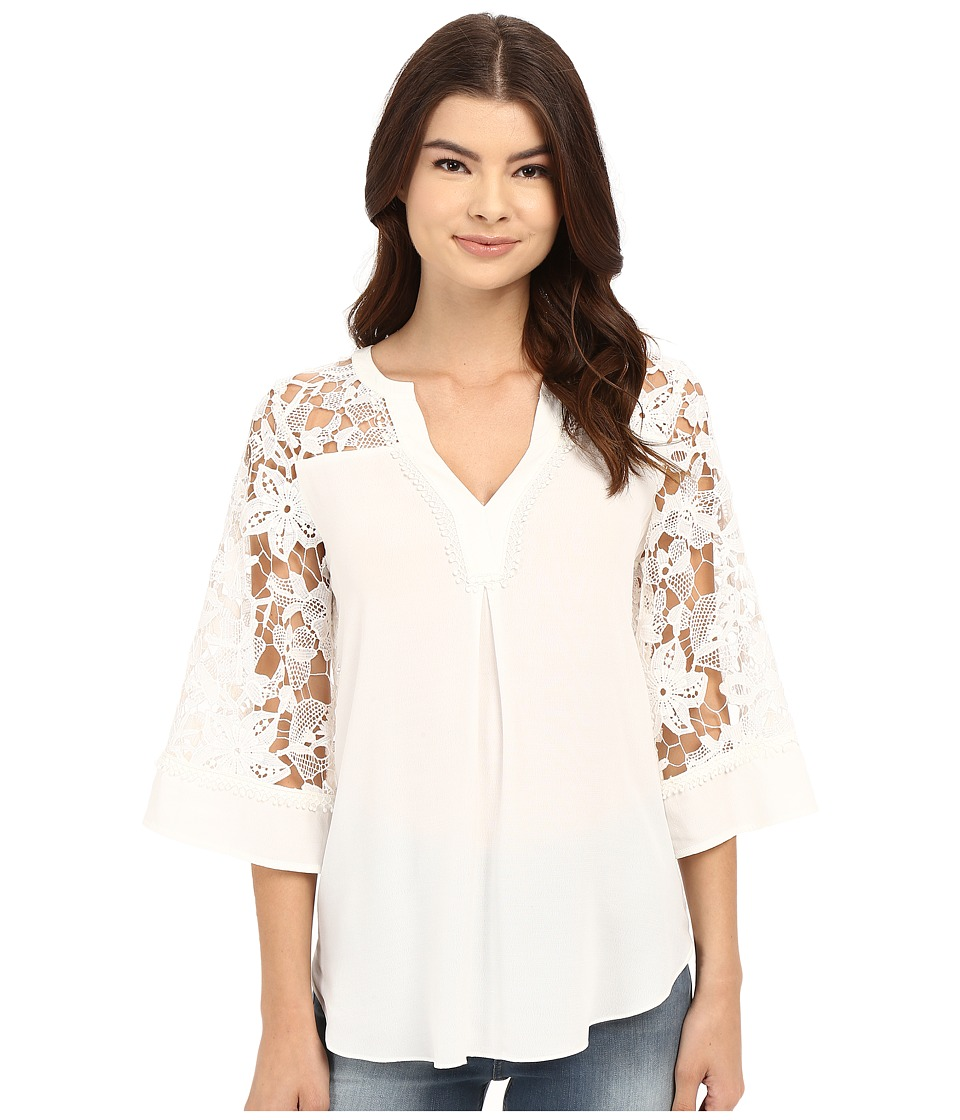 Hale Bob - The Case for Lace Blouse (Ivory) Women's Blouse