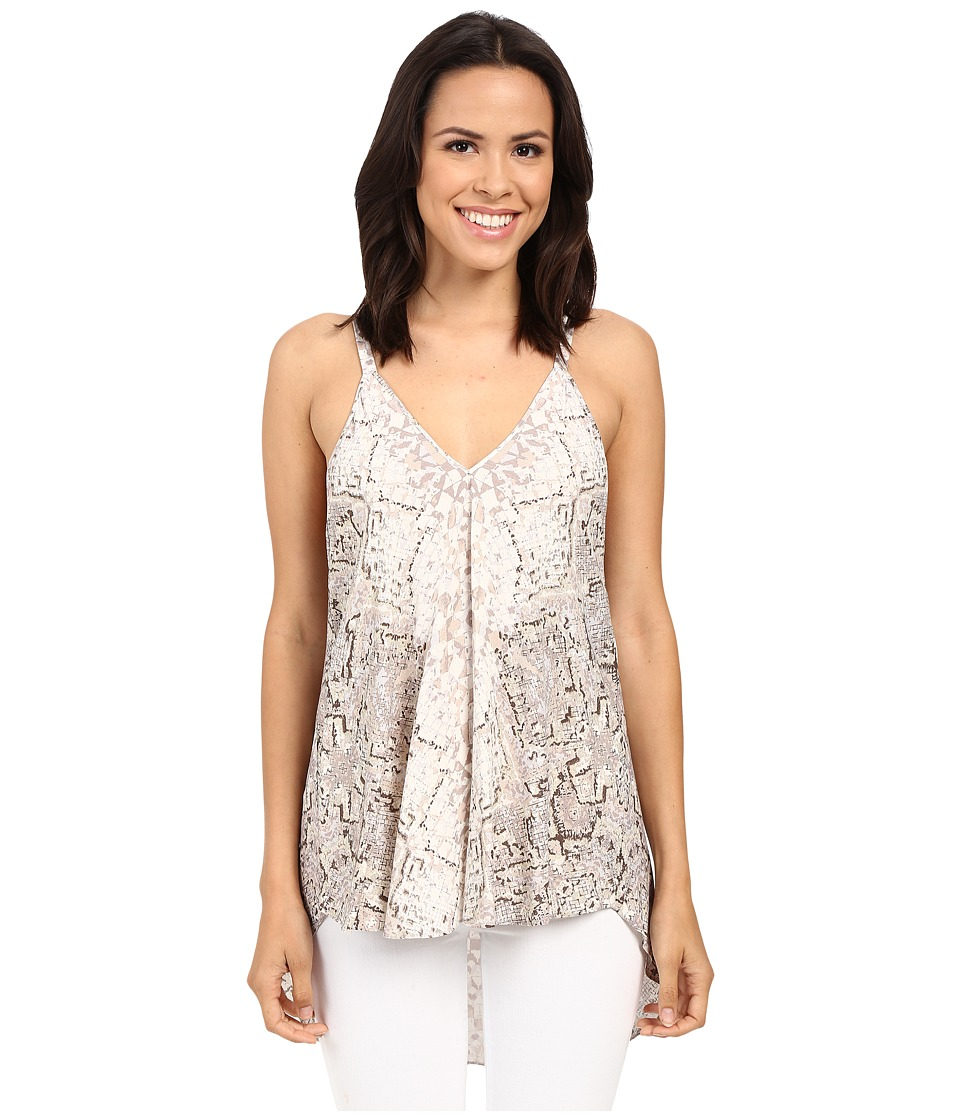 Hale Bob - All That Glitters Tank Top (Taupe) Women's Sleeveless