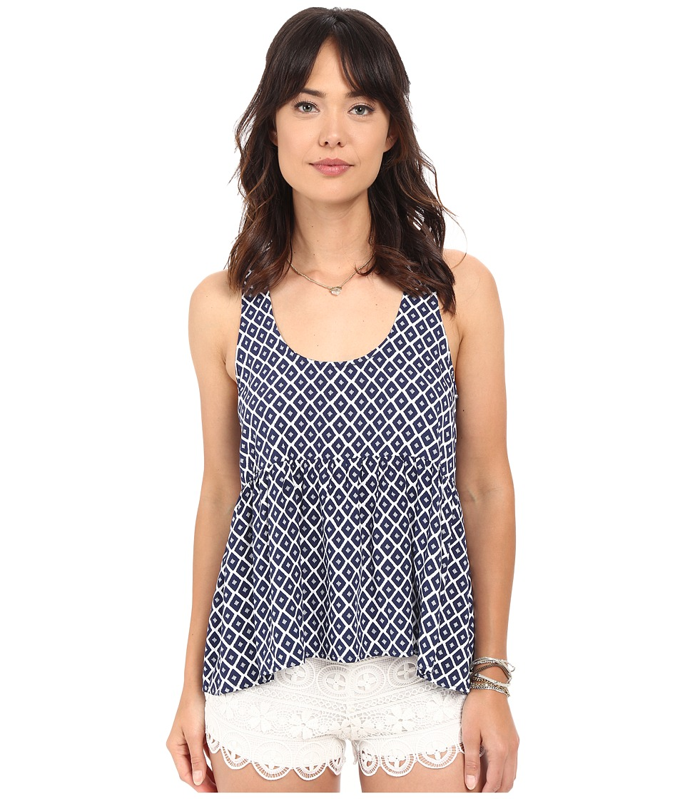 Jack by BB Dakota - Eloise Printed Rayon Top (Multi) Women's Clothing