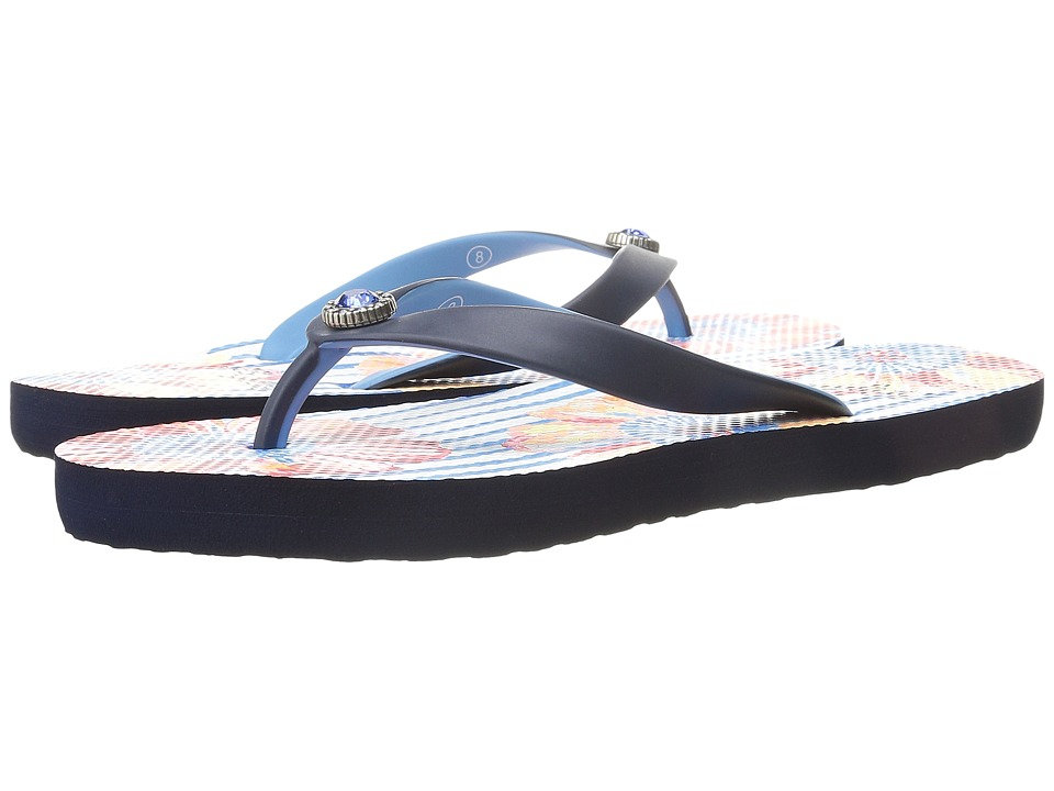 Brighton - Fleur (Navy Blue) Women's Sandals
