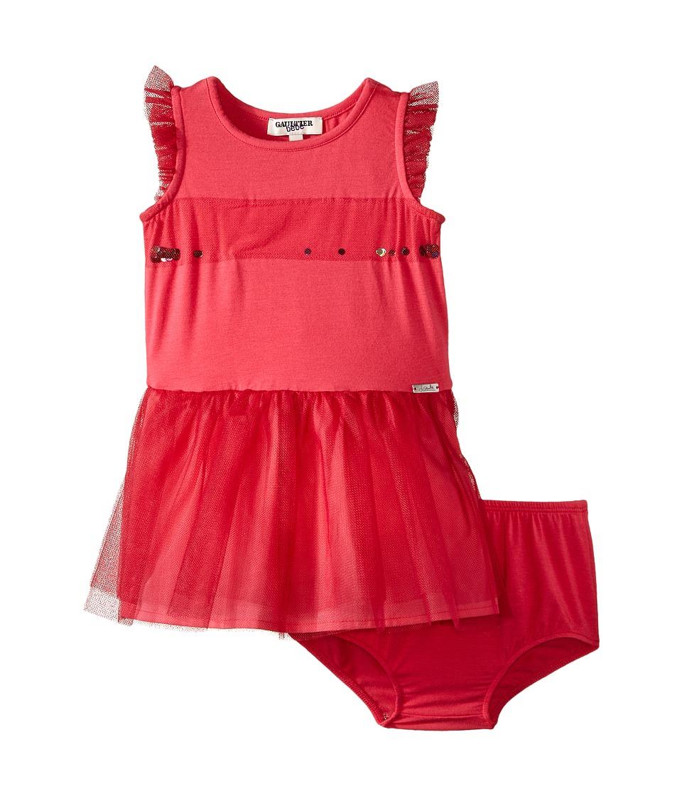 Junior Gaultier - Scarlett Dress (Infant) (Pink) Girl's Dress