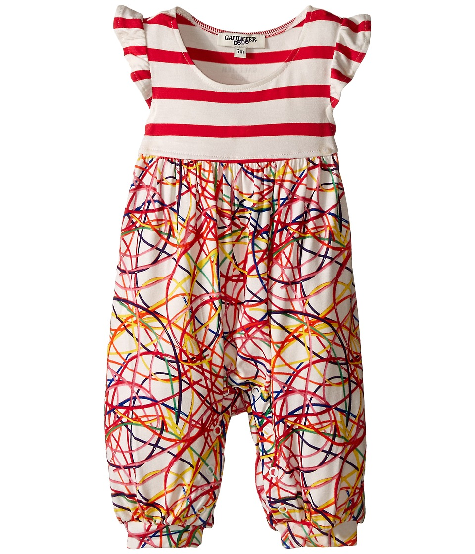 Junior Gaultier - Scoubidou Romper (Infant) (Multiple Colors) Girl