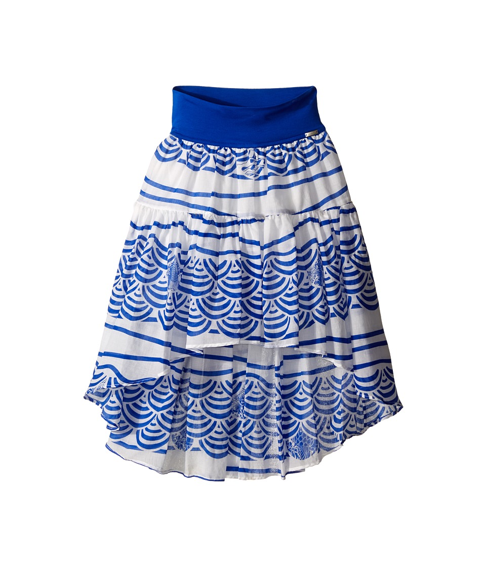 Junior Gaultier - Shelley High-Low Skirt (Big Kid) (Royal Blue) Girl's Skirt