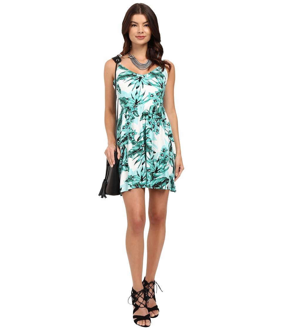 Jack by BB Dakota - Brittania Tropical Bliss Printed Rayon Crepe Dress (Multi) Women's Dress