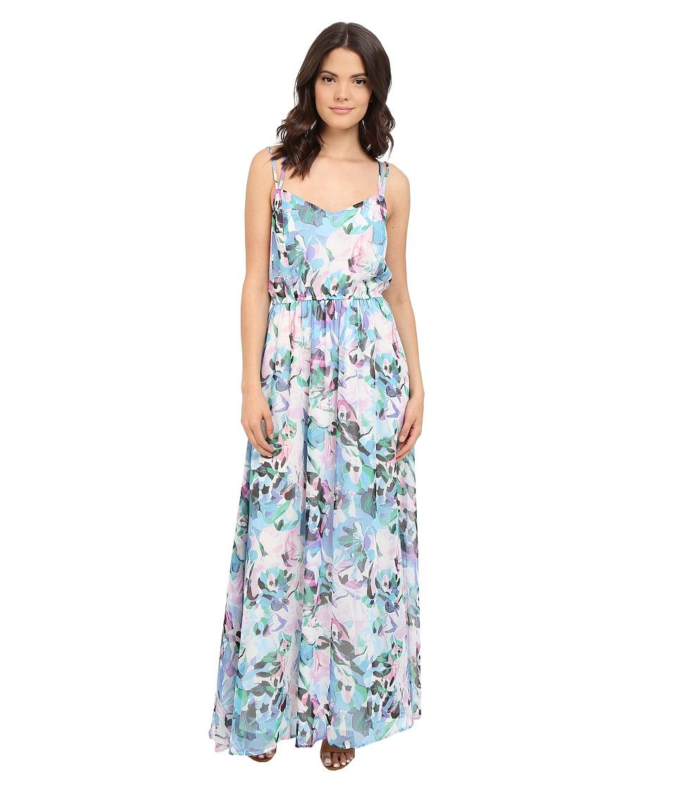 Jack by BB Dakota - Filippus Floral Haze Printed Maxi Dress (Multi) Women's Dress