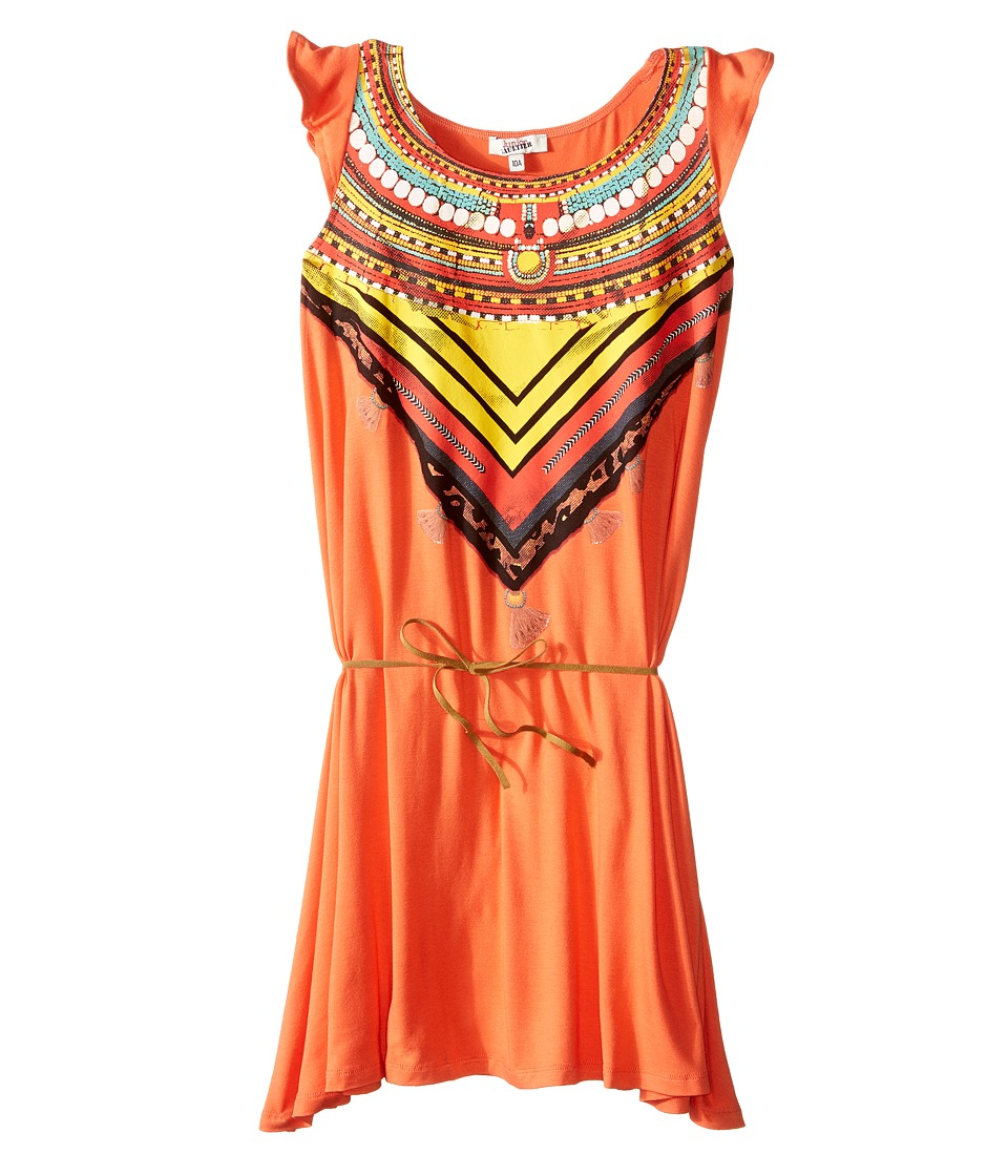 Junior Gaultier - Stessy Bohemian Dress (Big Kid) (Dark Orange) Girl's Dress