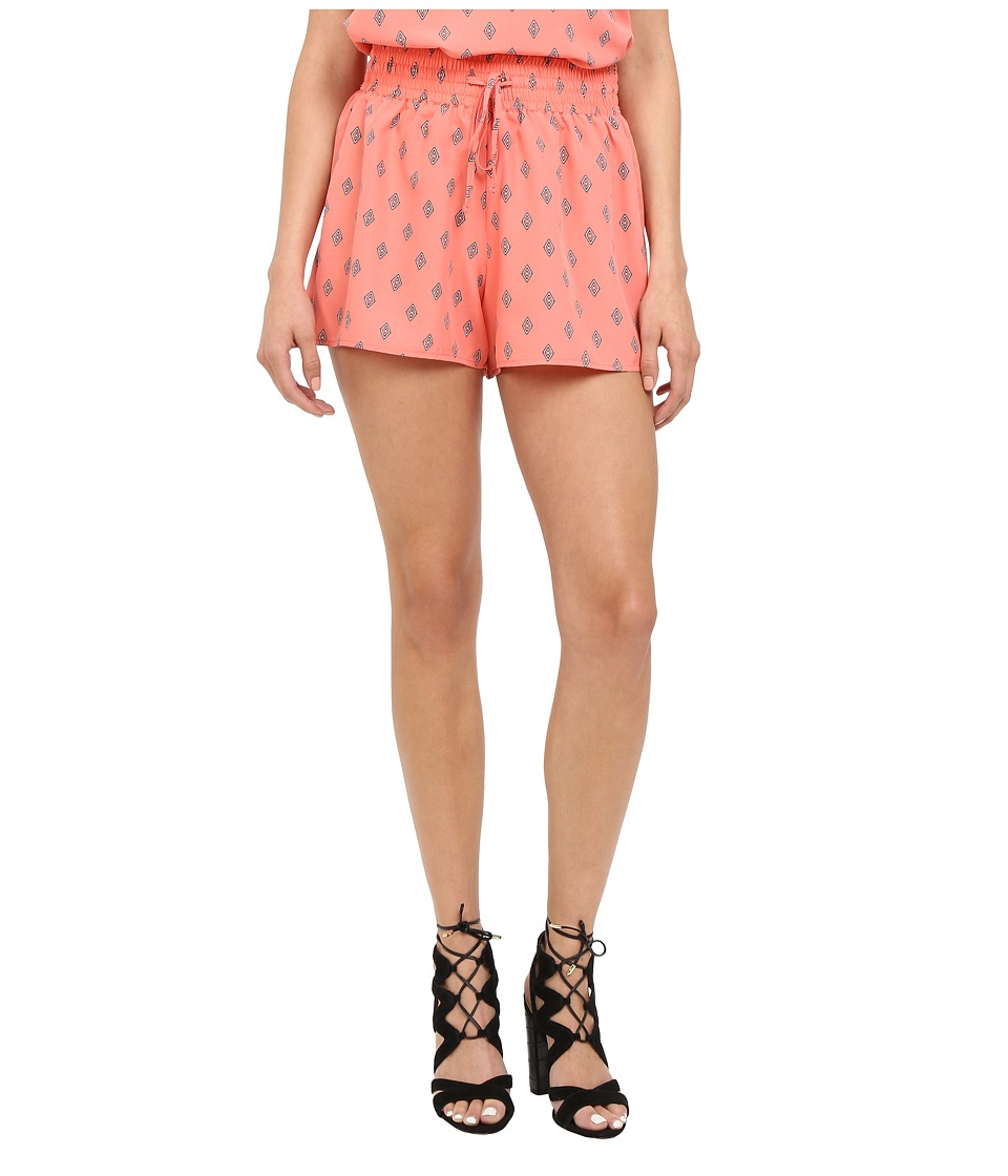 Jack by BB Dakota - Didi Diamonds Printed Crepe de Chine Shorts (Multi) Women's Shorts
