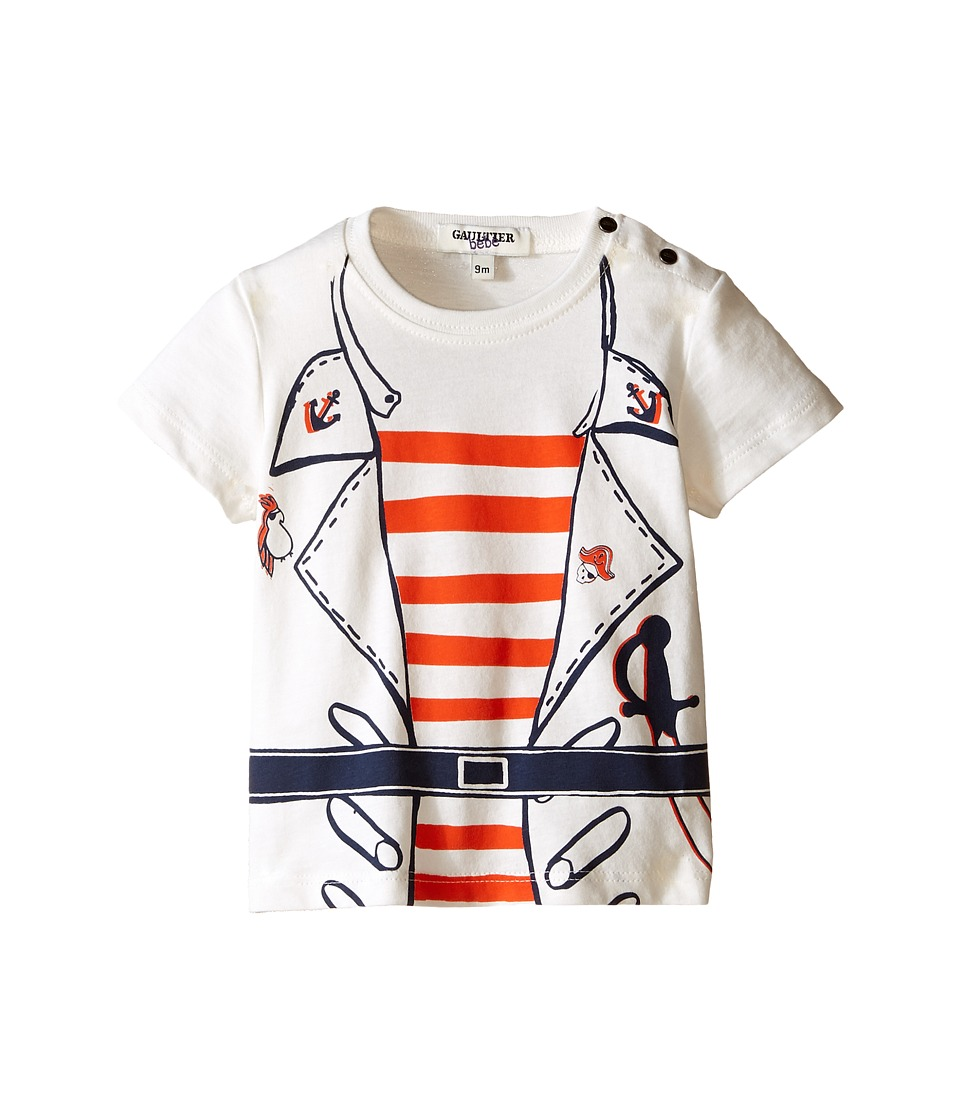 Junior Gaultier - Salif Pirate T-Shirt (Infant/Toddler) (Marine Blue) Boy's Short Sleeve Pullover