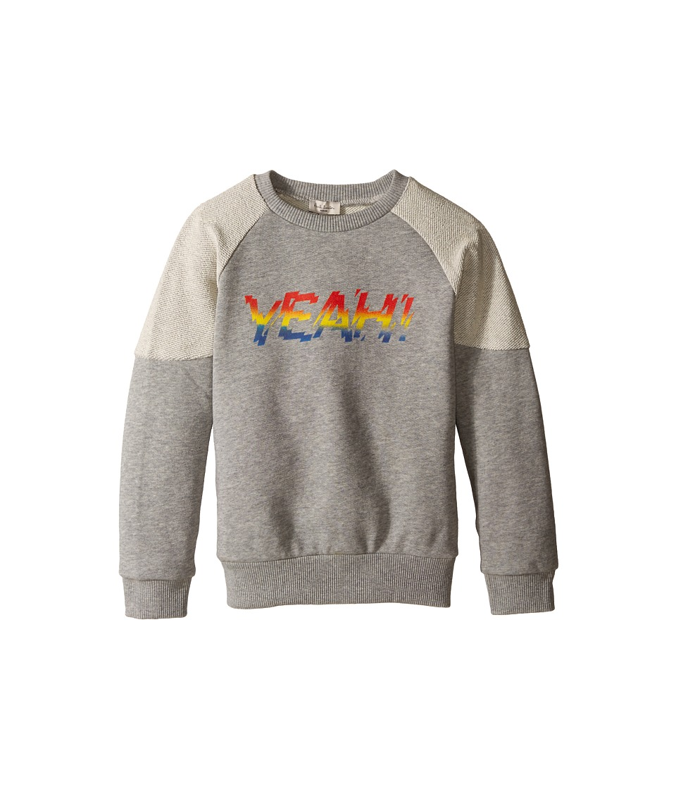 Paul Smith Junior - Yeah Sweatshirt (Toddler/Little Kids) (Grey Chine) Boy's Sweatshirt