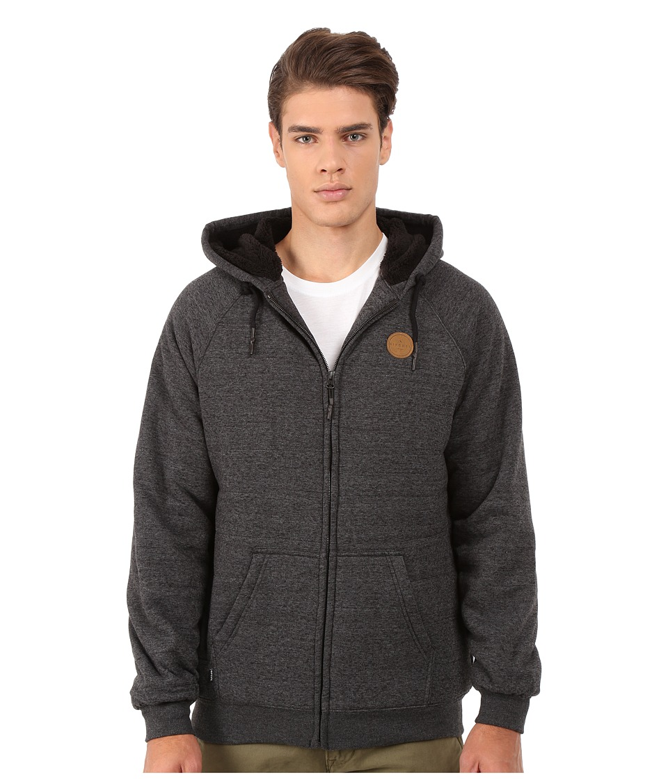 Rip Curl - Surf Patrol Sherpa Fleece (Black 1) Men's Sweatshirt