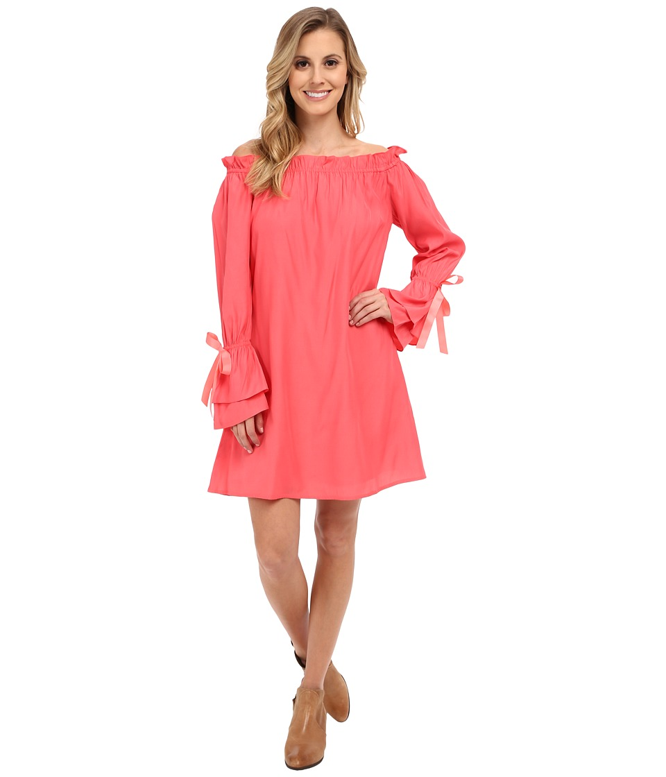 Union of Angels - Peyton Dress (Coral) Women's Dress