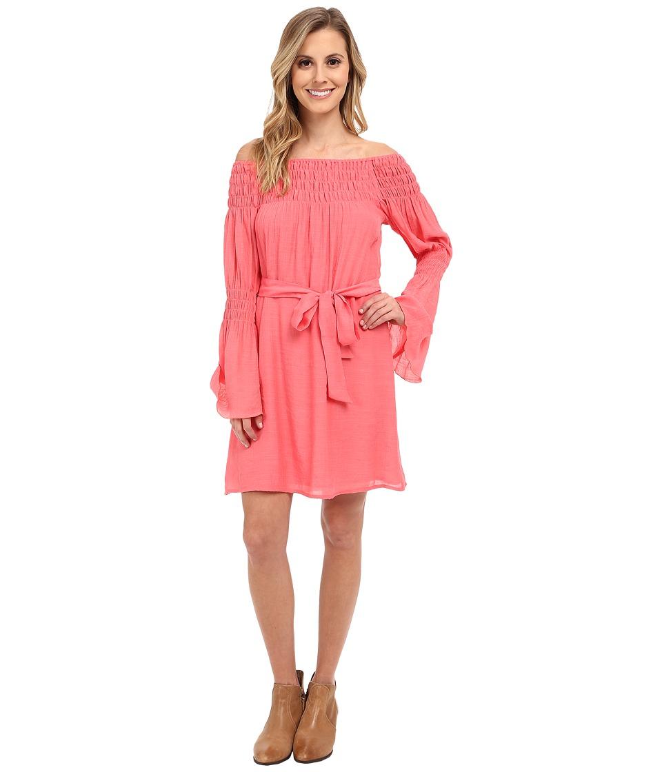 Union of Angels - Zuliet Dress (Coral) Women's Dress