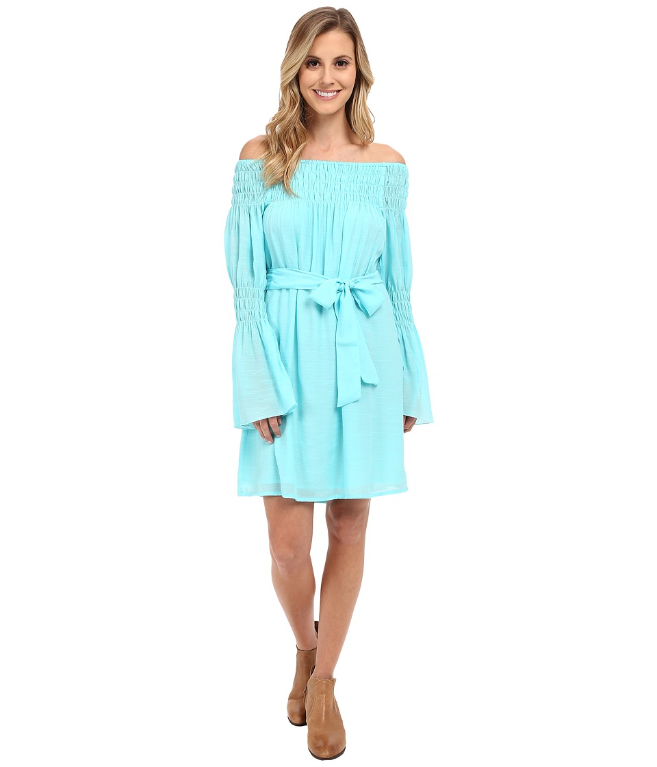 Union of Angels - Zuliet Dress (Turquoise) Women's Dress