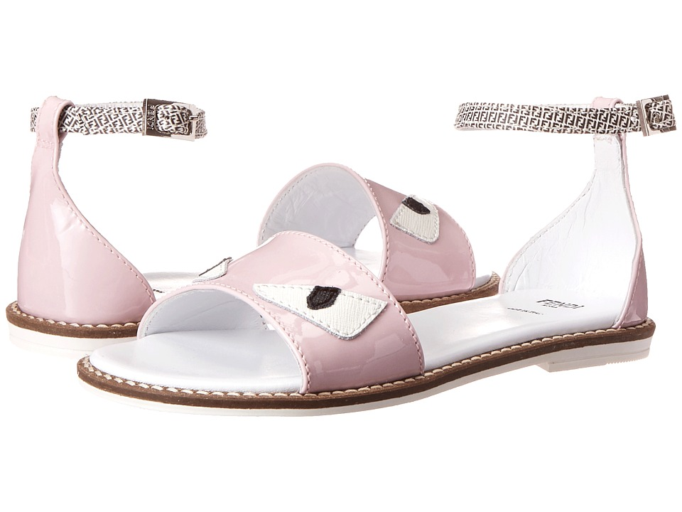 Fendi Kids - Monster Eye Sandals (Little Kid/Big Kid) (Pink) Girls Shoes