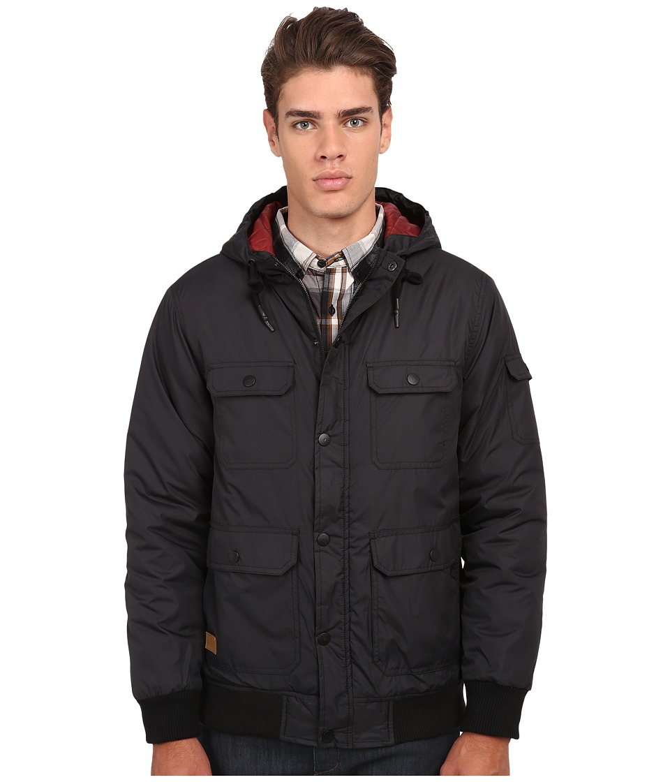 Rip Curl - Crows Nest Anti Series (Black) Men's Coat