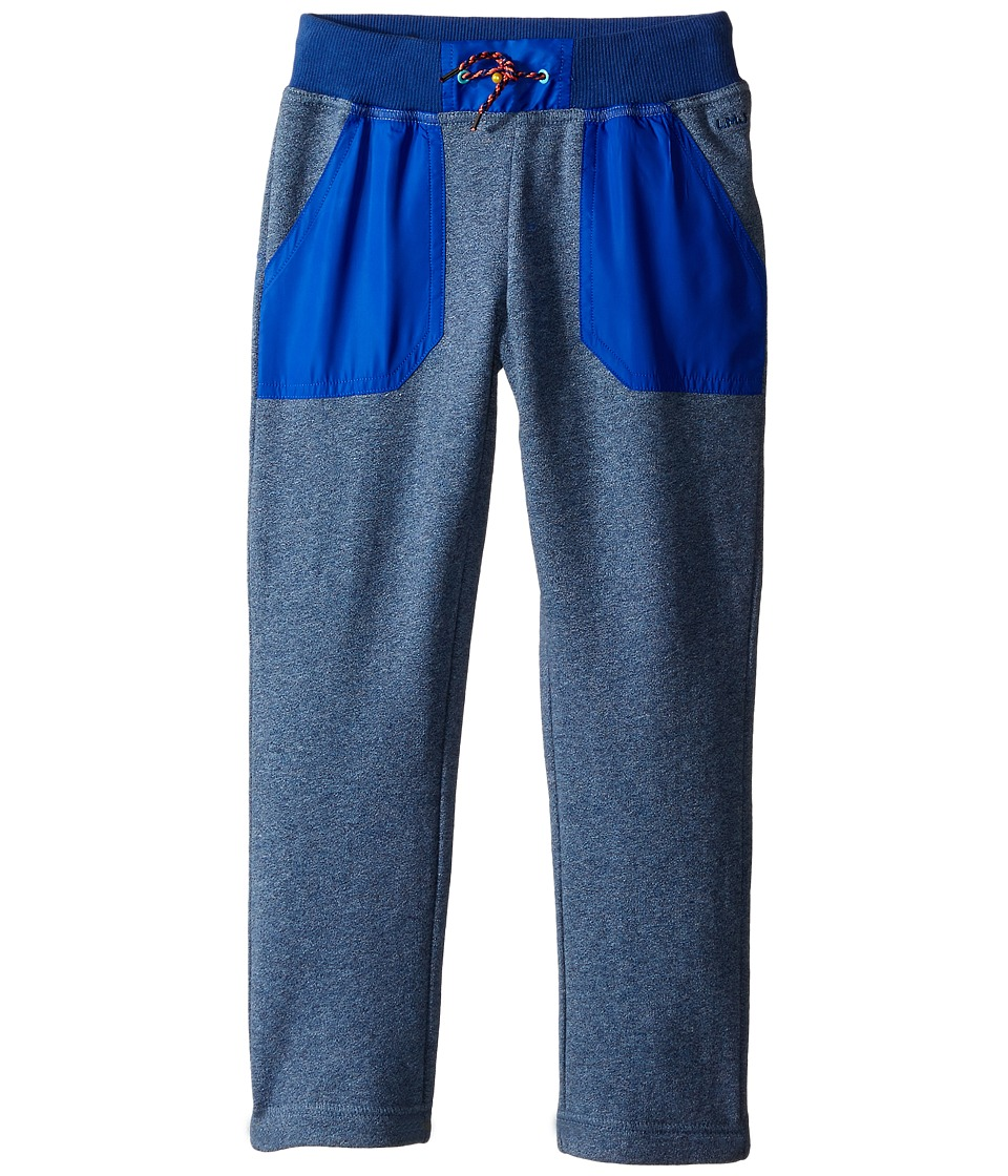 Little Marc Jacobs - Trousers Satin Patches (Toddler/Little Kids) (Medium Blue) Boy's Casual Pants