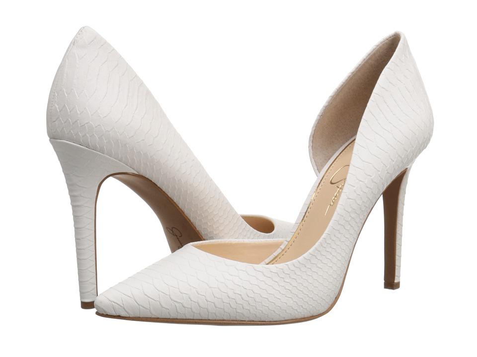 Jessica Simpson - Claudette (Powder Buffed Embossed Snake 2) High Heels