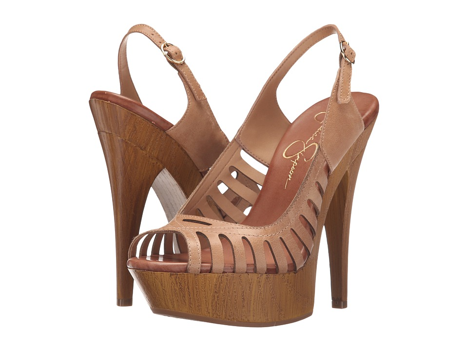 Jessica Simpson Finch (Buff Ruby Tumbled) High Heels