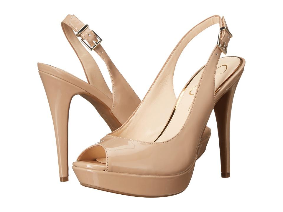 Jessica Simpson - Kiren (Nude Patent) High Heels