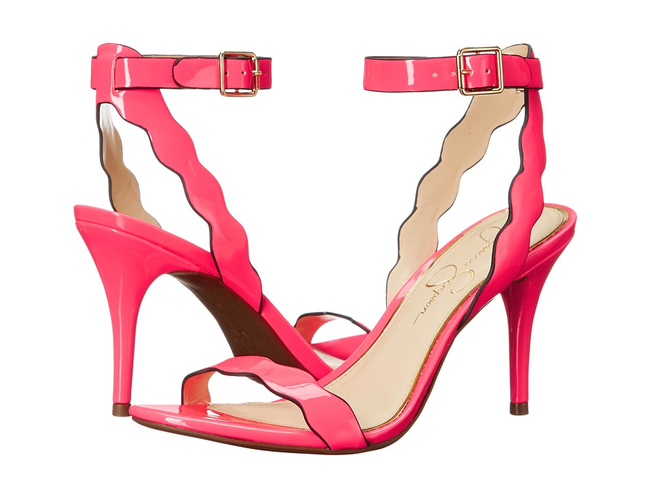 Jessica Simpson - Morena (Laser Pink Patent) High Heels