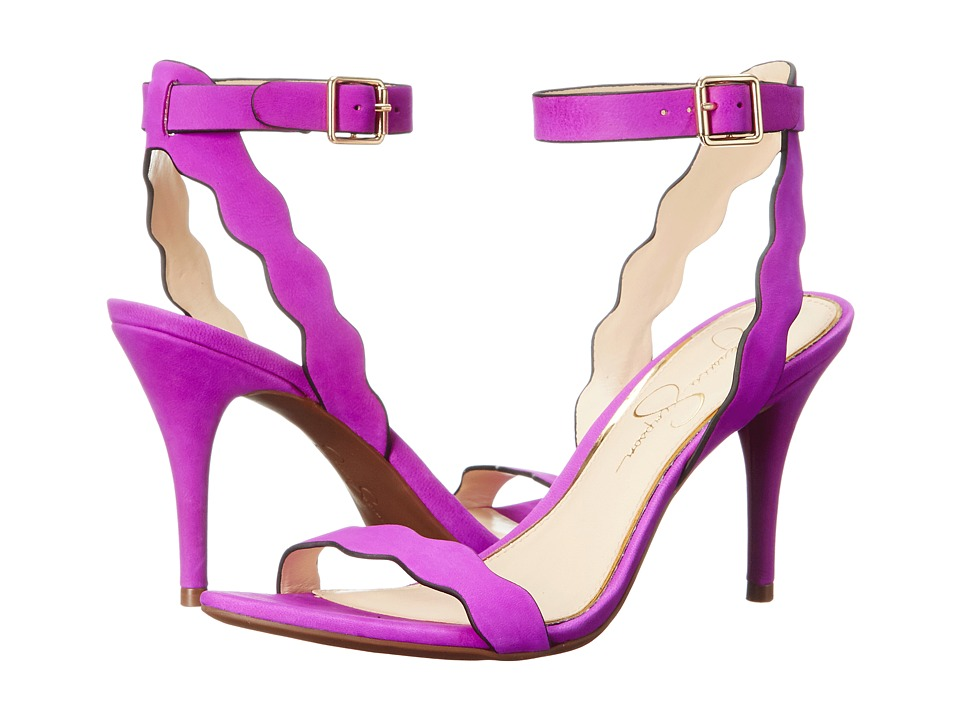 Jessica Simpson - Morena (Vivid Orchid Elko Nubuck) High Heels