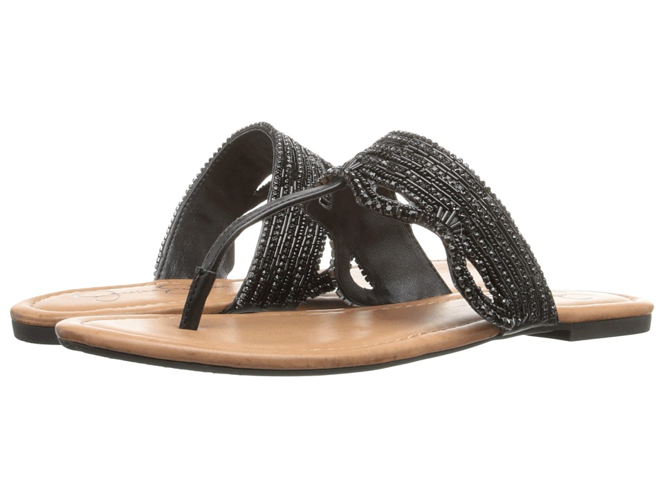 Jessica Simpson Randle (Black Veg Vachetta) Women