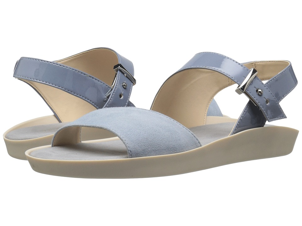 Nine West - Izara3 (Medium Blue/Light Blue Synthetic) Women's Sandals