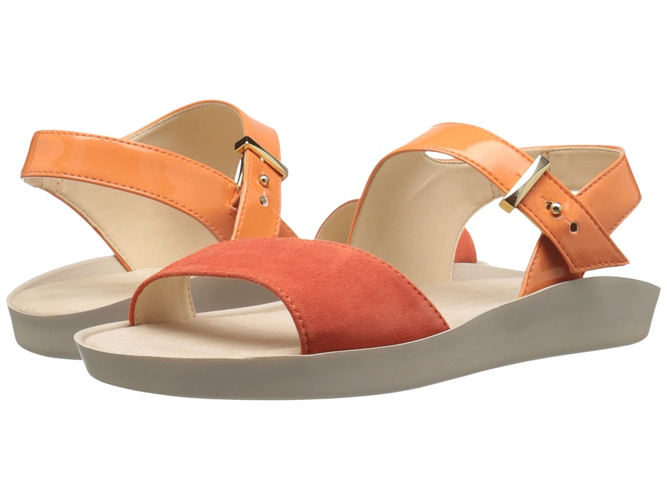 Nine West - Izara3 (Orange/Red Synthetic) Women