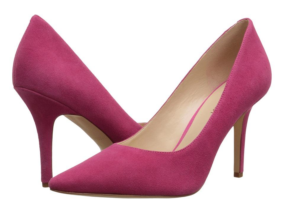 Nine West - Jackpot (Dark Pink Suede) High Heels