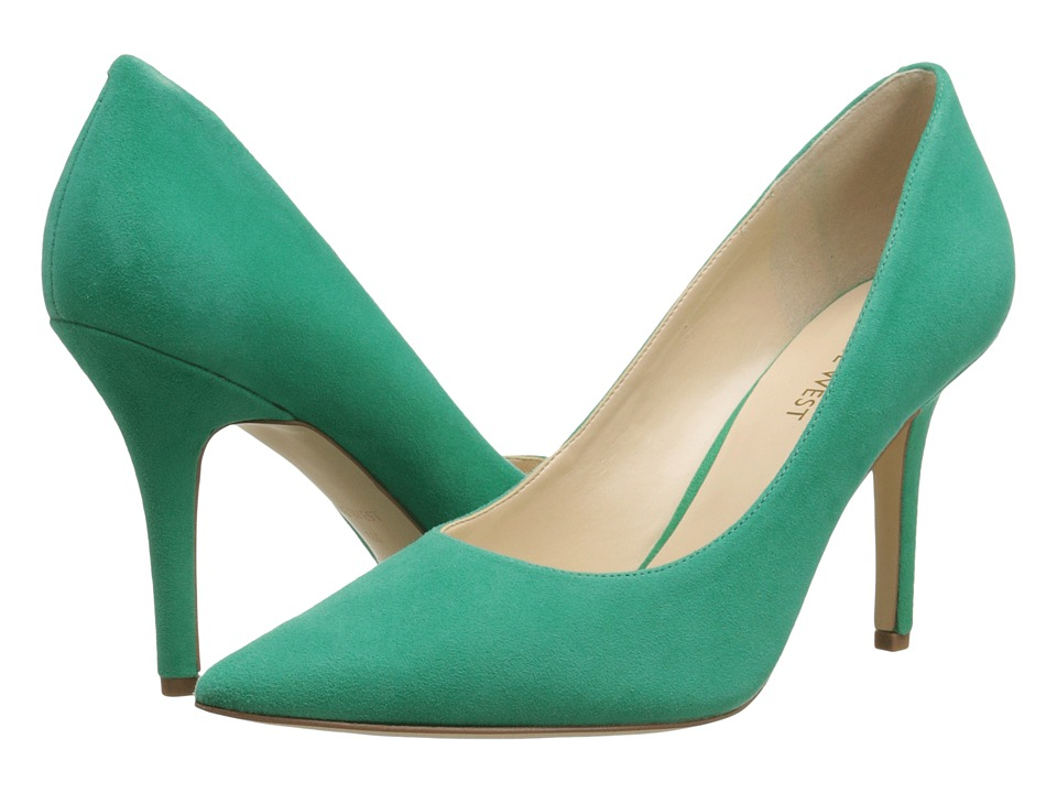 Nine West - Jackpot (Green Suede) High Heels