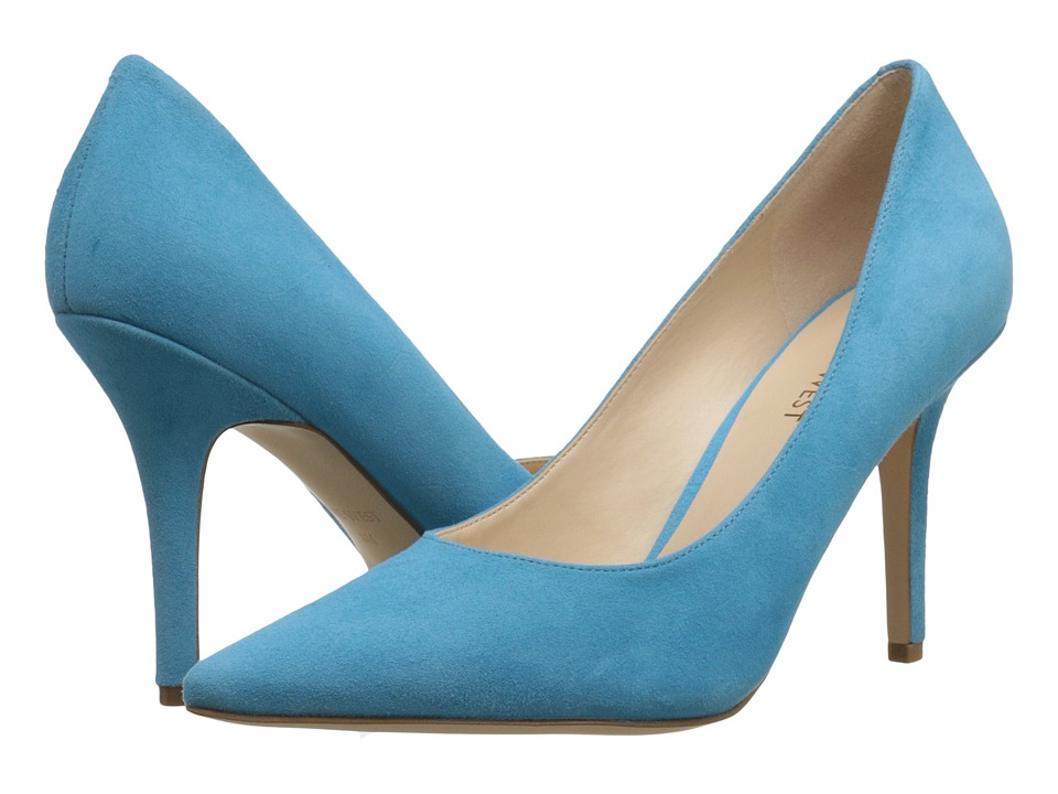 Nine West - Jackpot (Turquoise Suede) High Heels