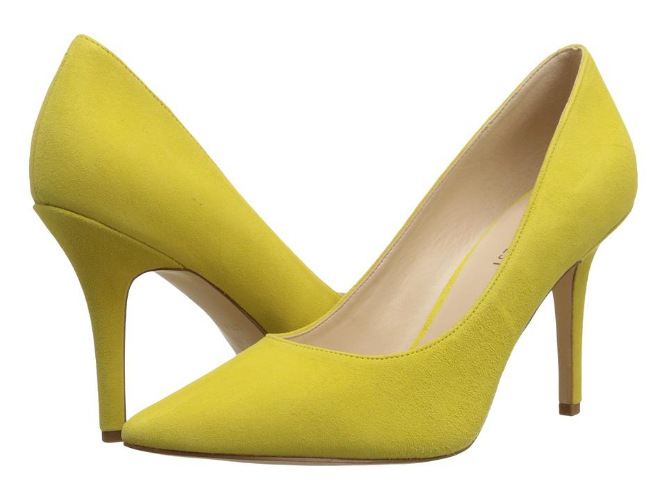 Nine West - Jackpot (Yellow Suede) High Heels