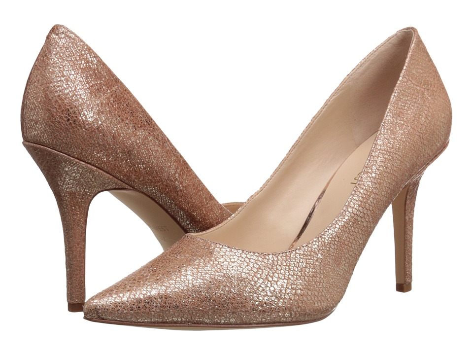 Nine West - Jackpot (Natural Metallic) High Heels