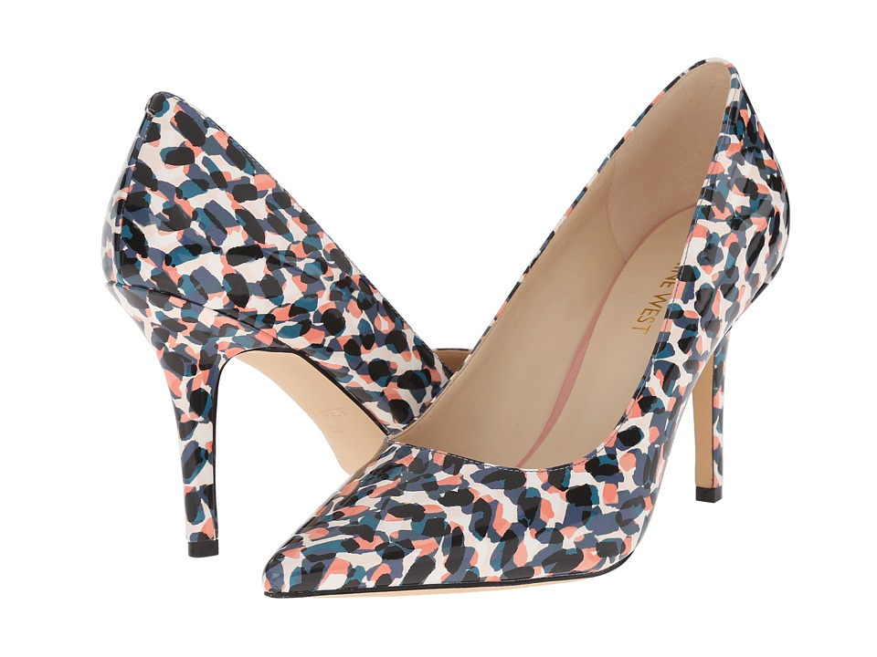 Nine West - Jackpot3 (Blue Multi Synthetic) Women's Shoes